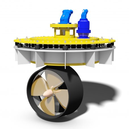 HYDROMASTER resilient mounted azimuth thruster